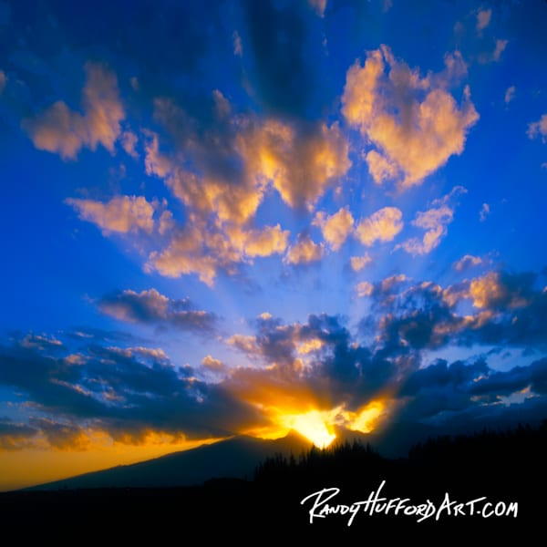 Explosive West Maui Sunset