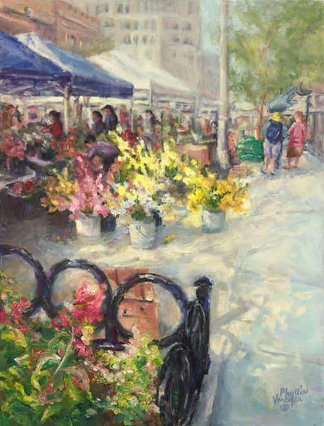Appleton Farm Market fine art print by Phyllis Verhyen.