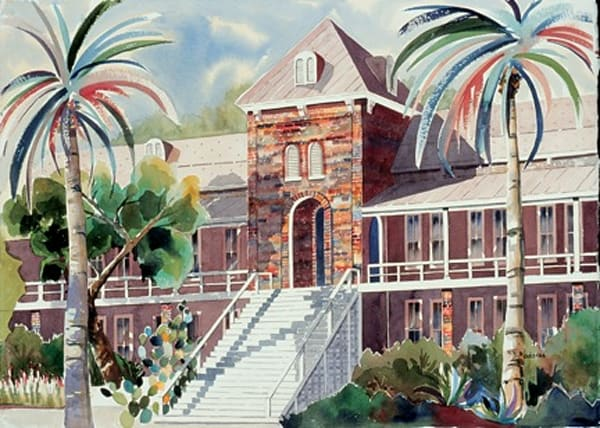 Old Main II | Southwest Art Gallery Tucson | Madaras Gallery