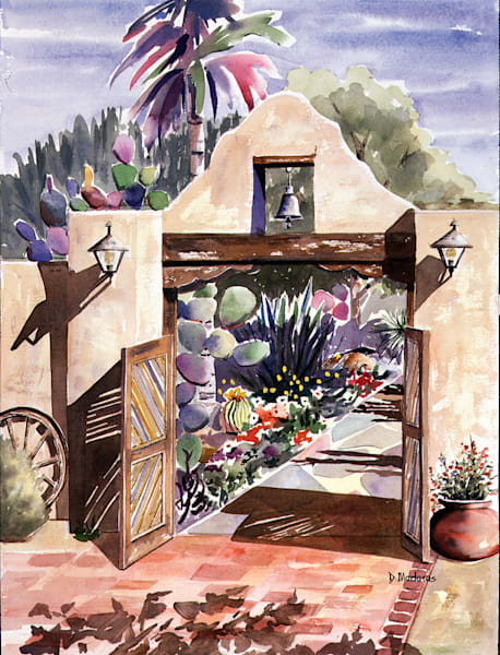 Hacienda del Sol Gate | Southwest Art Gallery Tucson