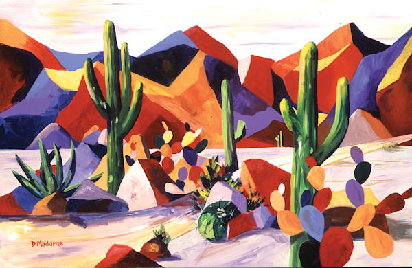Cactus Valley | Southwest Art Gallery Tucson | Madaras