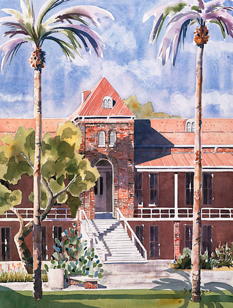 Old Main I | Southwest Art Gallery Tucson | Madaras Gallery