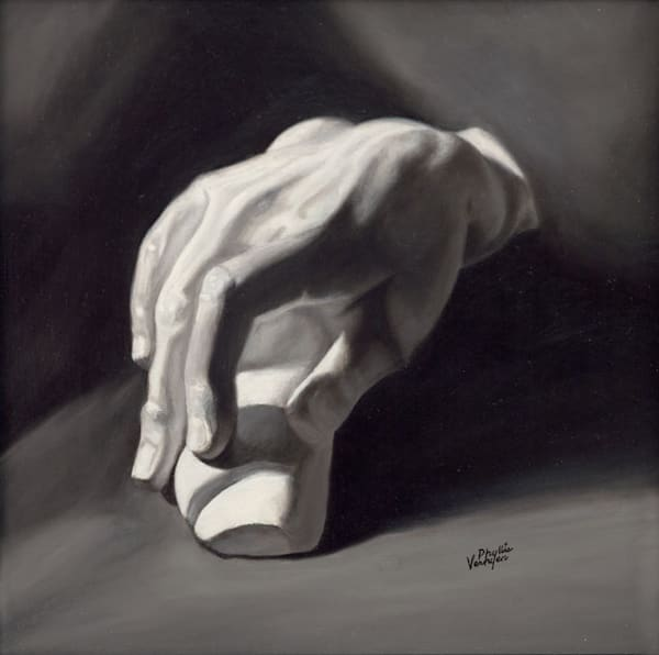 Hand of Man fine art print by Phyllis Verhyen.