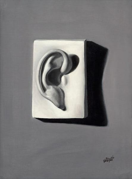 Ear of Man fine art print by Phyllis Verhyen.