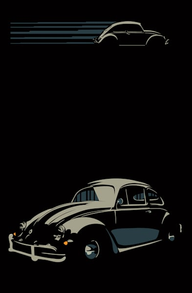 Classic car poster art by Sassan Filsoof. Click to purchase.