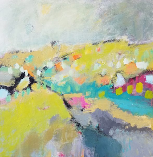 Betty Krause Art | Fine Art Paintings | Abstract Landscapes