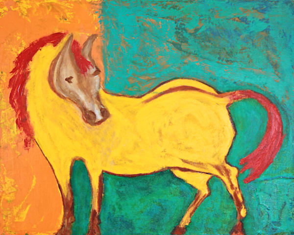 Pony Mare Art | Pam White Art