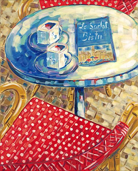 """Cafe Au Lait"" fine art print by Barb Timmerman."