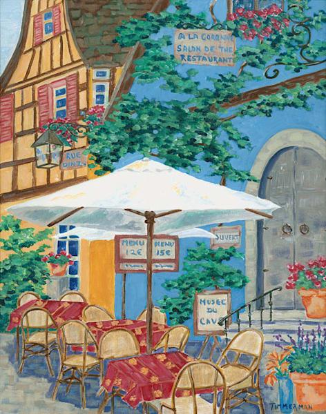 Rue Denzheim fine art print by Barb Timmerman.