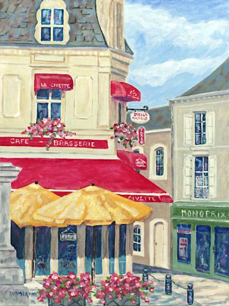 La Civette fine art print by Barb Timmerman.
