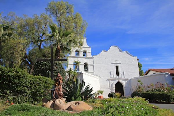 Mission San Diego De Alcala  Photography Art | Lee Loventhal Photography