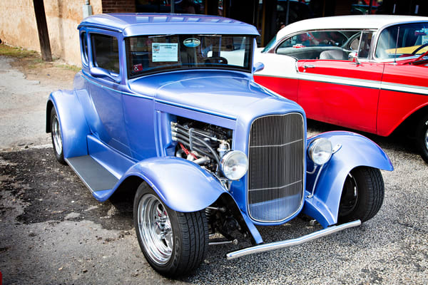 1931 Ford Model A Hot Rod Classic Car Art Photographs