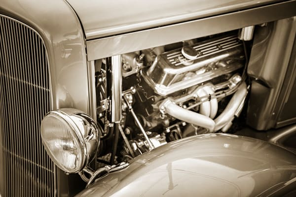 Engine 1931 Ford Model A Classic Car 3213.01