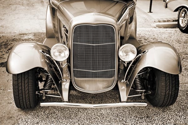 Front End 1931 Ford Model A Classic Car 3214.01