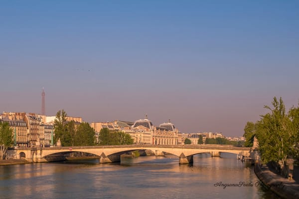 River Seine Golden hour