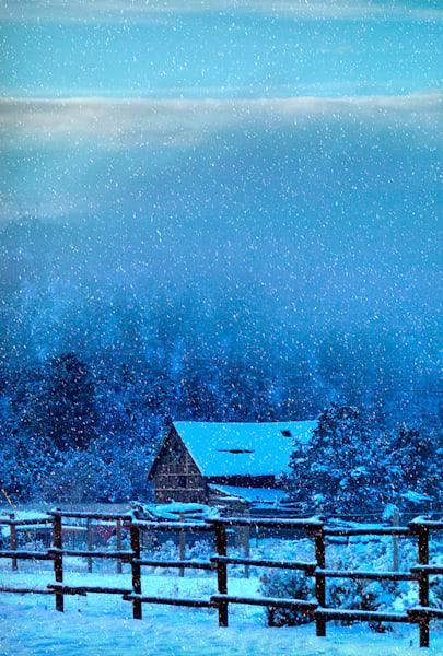 Snowy Adobe