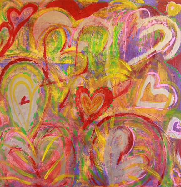 Heart 8 Art | Pam White Art
