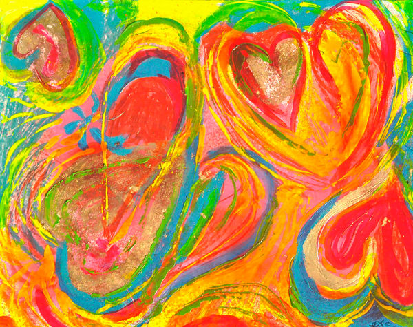 Heart 3 Art | Pam White Art