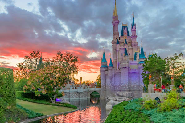 Castle Dusk - Disney Prints for Sale | William Drew