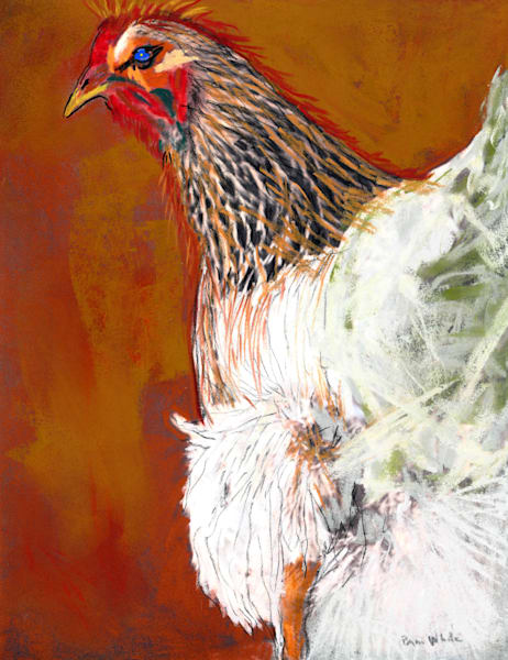 Watch Hen Art | Pam White Art