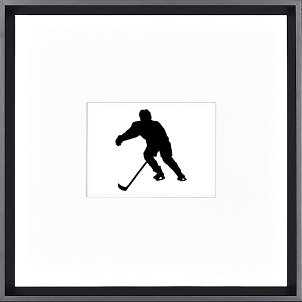 "16"" x 16"" Silhouette Still Motion Art 