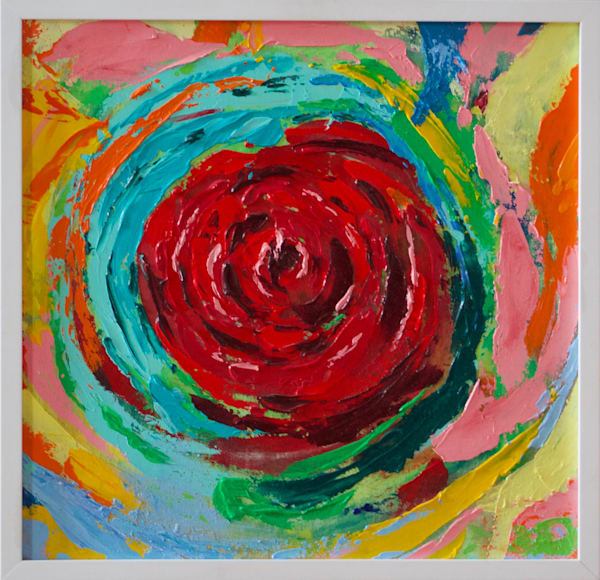 Rose Vortex Art | Lesley Koenig Studio