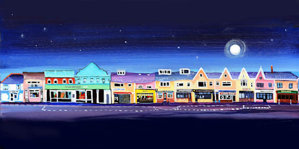 Burry Port Art Print Denise Di Battista