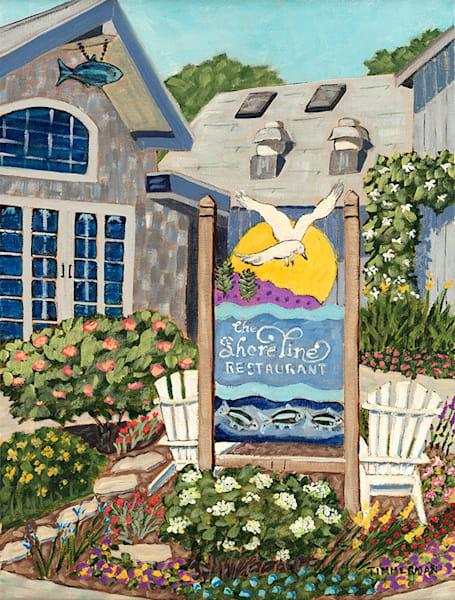 The Shoreline fine art print by Barb Timmerman.