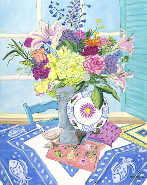 Joie deVivre fine art print by Barb Timmerman.