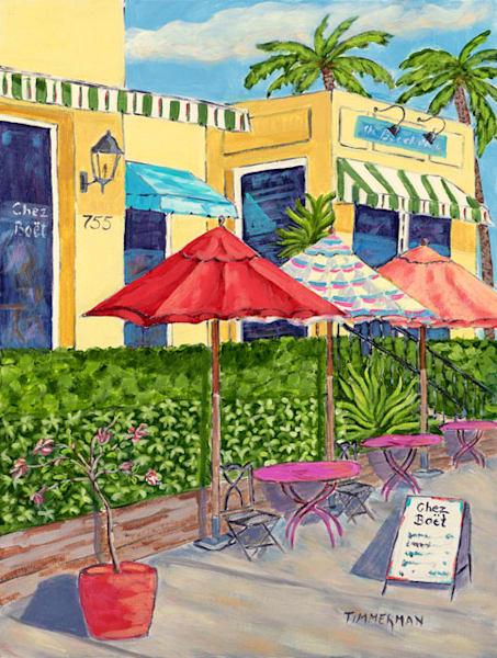 """""""Chez Boet"""" fine art print by Barb Timmerman."""