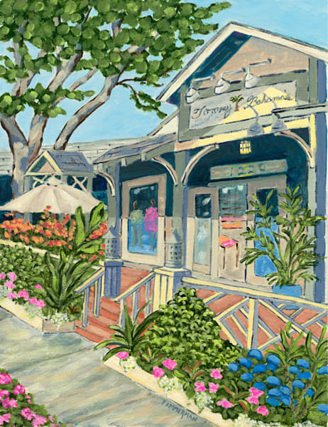 Tommy's on 3rd fine art print by Barb Timmerman.