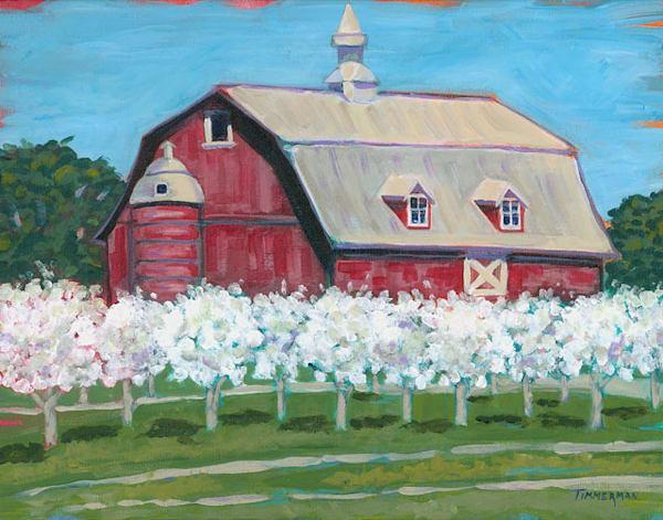 Springtime fine art print by Barb Timmerman.