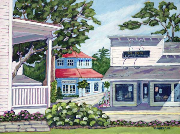 Main Street fine art print by Barb Timmerman.