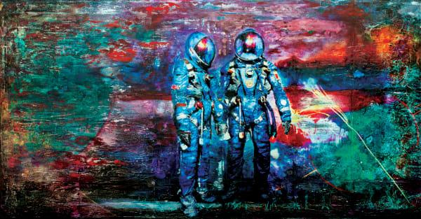 Cosmonauts Art | Kyle Schember