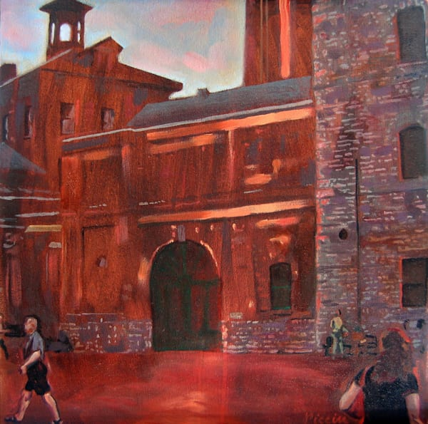 Courtyard At Distillery