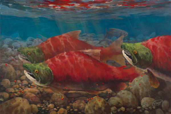 Reds Art | Pete Maupin