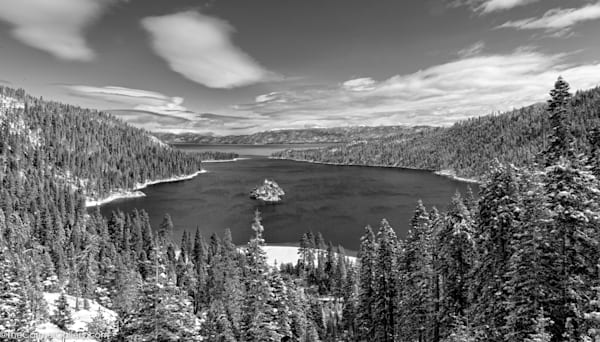 Emerald Bay In Winter Ii Art | The Carmel Gallery