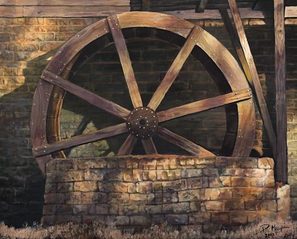 Alabama Water Wheel Art | Pete Maupin