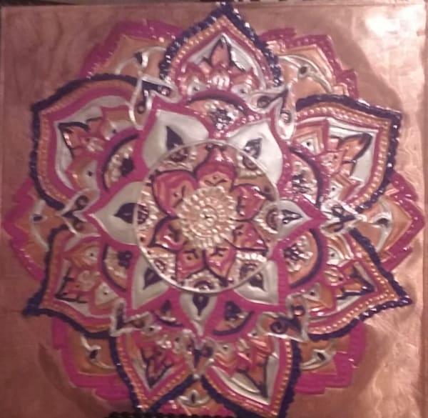 <SOLD> Love Flower Mandala