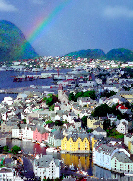 Alesund, Norway Art | The Carmel Gallery