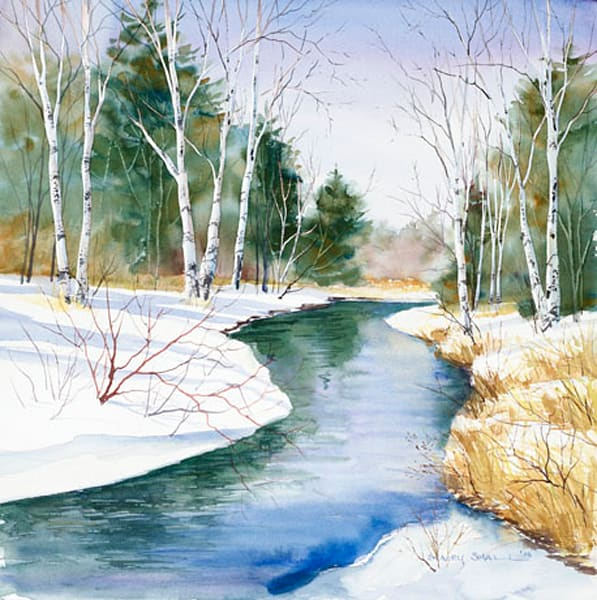Whitefish Bay Creek fine art print by Stacey Small Rupp.