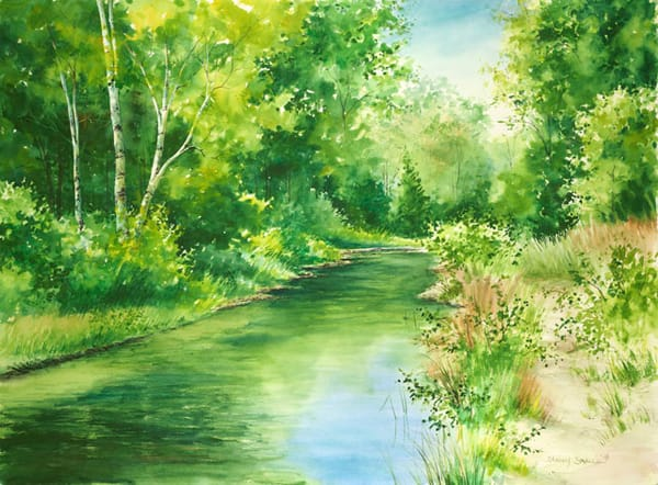 Hibbard's Creek fine art print by Stacey Small Rupp.