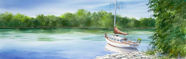 Mariah, Horseshoe Island fine art print by Stacey Small Rupp.