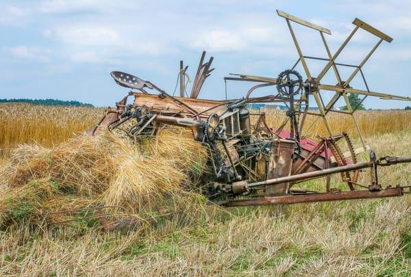 McCormick Deering Harvesting JL Case International Harvester Wheat fleblanc