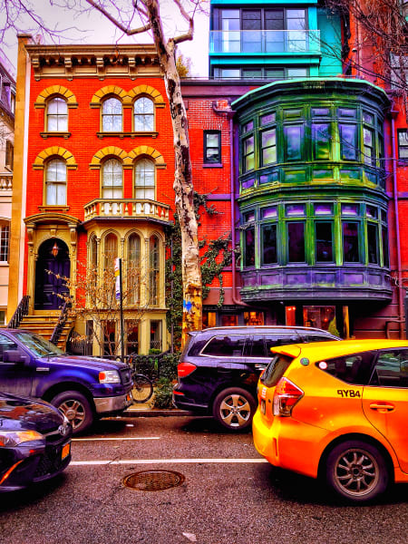Brownstones in Color