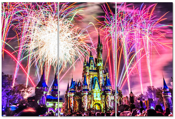 Happily Ever After 14 - Disney Panel Art | William Drew