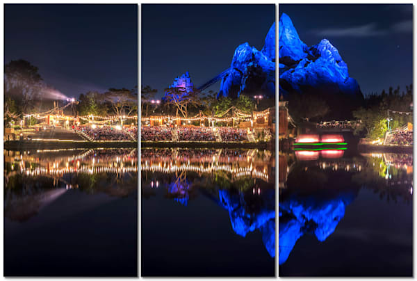 Blue Everest Reflection - Disney Panel Art | William Drew