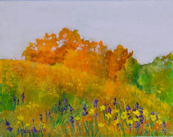 Autumn Fields by Pat Megraw