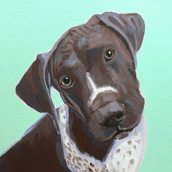 lesli devito 10 x 10 custom pet portrait