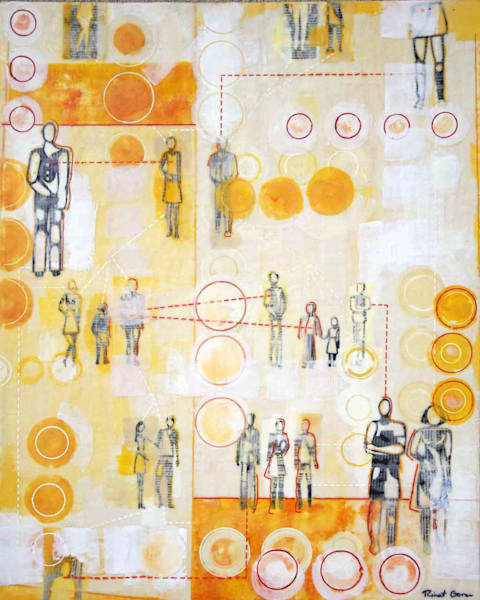 About A Family by artist Rinat Goren